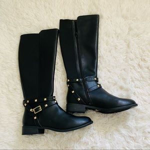 Thalía Sodi Vallie Studded Boot (Size 9,11)
